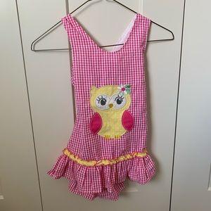 Pink jumper/romper